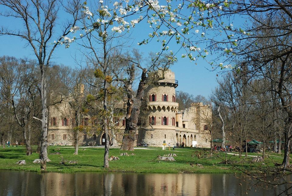 Janův hrad na jaře