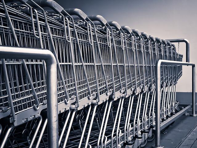 vozíky na nákup