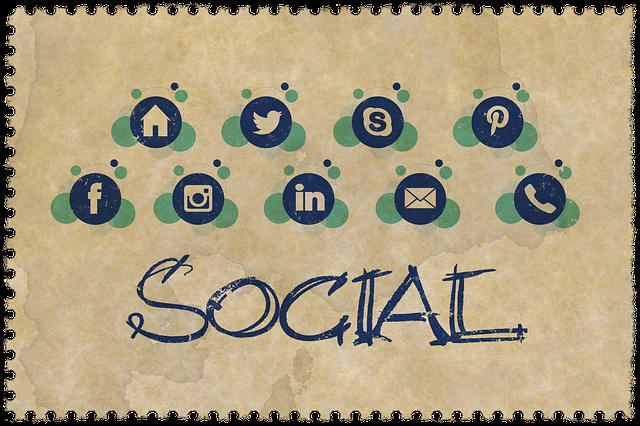 sociální sítě - loga